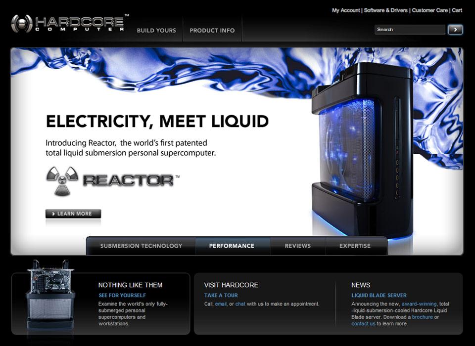 hardcore computer s reactor