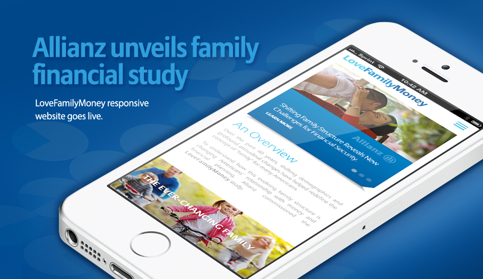 Allianz Responsive Website Feature