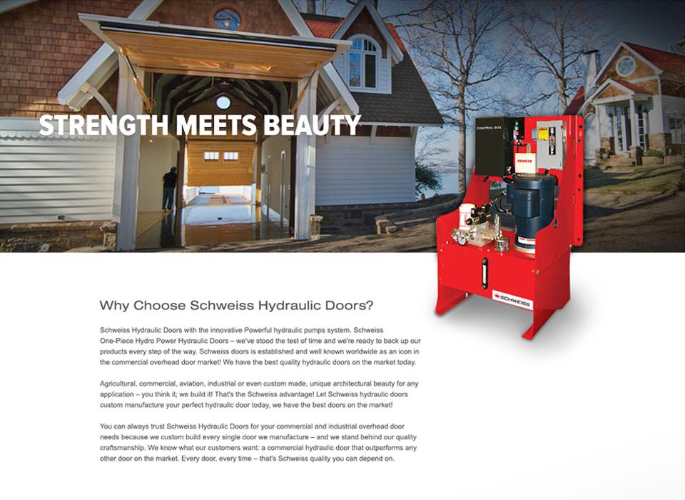 Responsive Website. Previous  sc 1 st  MJ Kretsinger & Our Work: Schweiss Doors Responsive Website   MJ Kretsinger